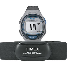 Timex Heart Rate Monitor - Grey/Black - T5K738L3