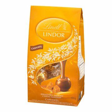 Lindt Lindor Milk Chocolate with Caramel - 150g