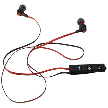 Escape Bluetooth Sport Earbuds - Black and Red - 38979