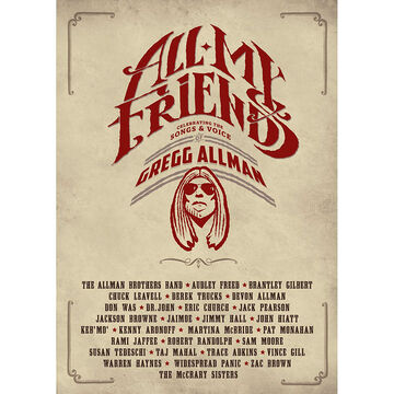 All My Friends: Celebrating The Songs & Voice Of Gregg Allman - DVD