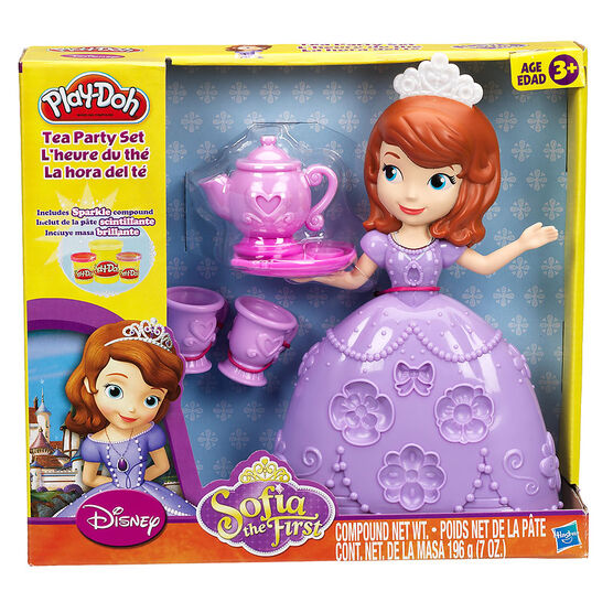 Play-Doh - Disney Tea Party Set - Sofia the First