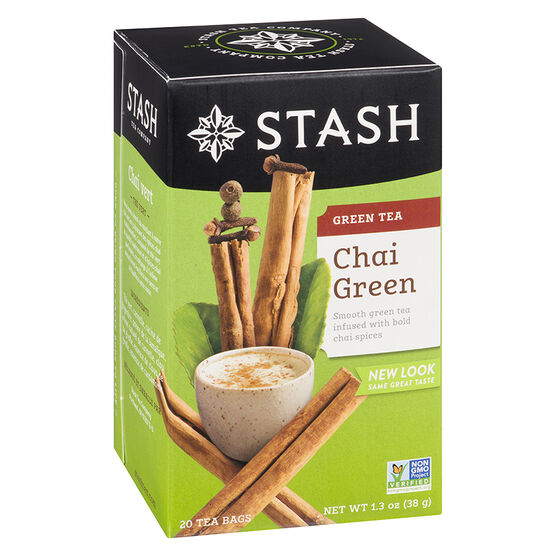 Stash Premium Green Chai Tea - 20's