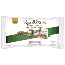 Russell Stover No Sugar Added - 3 Flavour Mix - 255g