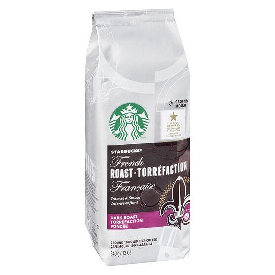 Starbucks Ground Coffee - French Roast - 340g