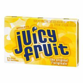 Wrigley Juicy Fruit - Original - 12 piece