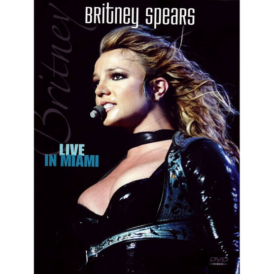 Britney Spears - Live in Miami - DVD