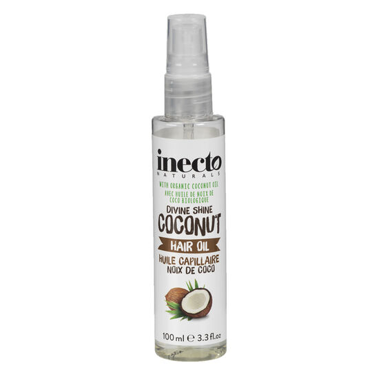 Inecto Naturals Devine Shine Coconut Hair Oil - 100ml