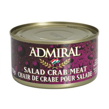 Admiral Salad Crab Meat - 113g
