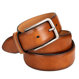 Docker's 35mm Belt with Center Crease and Logo