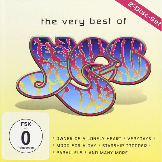 Yes - The Very Best of Yes - CD + DVD