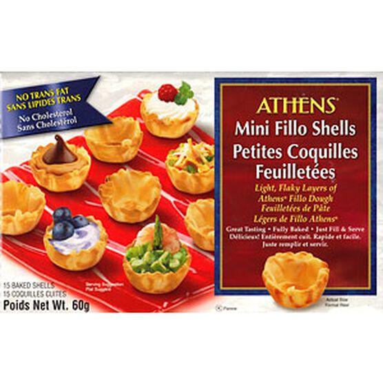 Athens Mini Fillo Shells - 60g