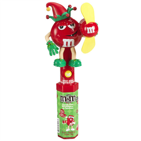 M&M's Holiday Candy Fan - Assorted - 15g