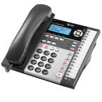 AT&T 4-Line Corded CID Office Phone - Black - 1070