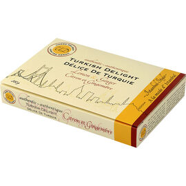 Uners Delight Turkish Delight - Lemon & Ginger - 200g