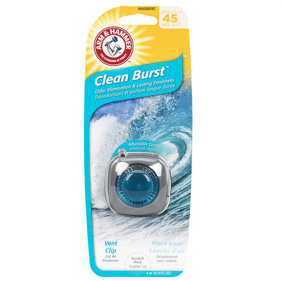 Arm & Hammer Vent Clip Air Freshener - Clean Burst