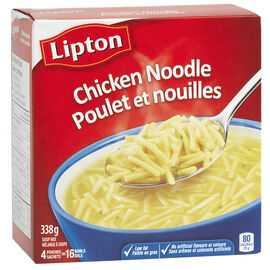 Knorr Lipton Chicken Noodle Soup Mix - 4 pack/338g
