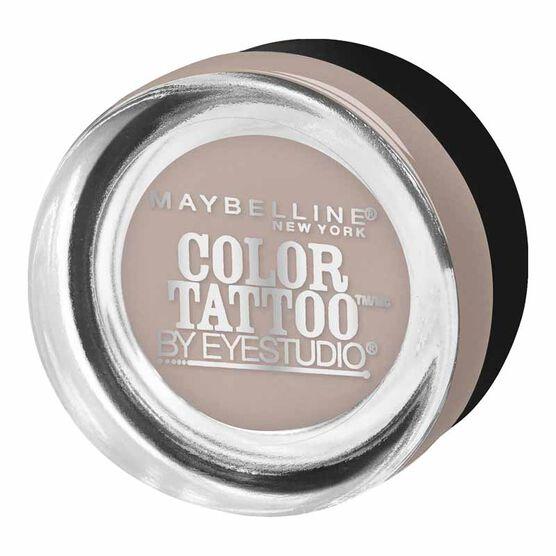Maybelline Eye Studio Color Tattoo 24HR Cream Gel Eyeshadow - Tough as Taupe