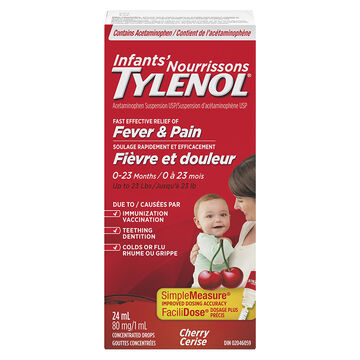Tylenol Infants Drops - Cherry - 24ml