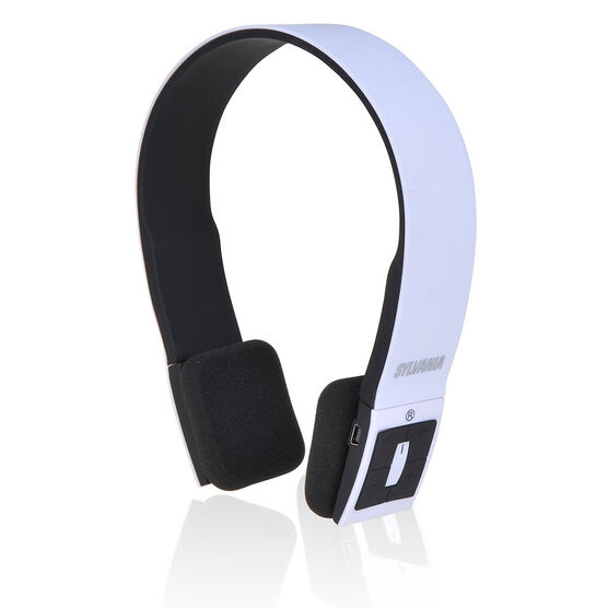 sylvania bluetooth headphone white sbt214wh london drugs. Black Bedroom Furniture Sets. Home Design Ideas
