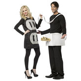 Halloween Plug and Socket Couples' Costume