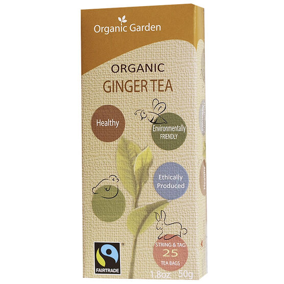 Organic Garden Tea - Ginger - 25's