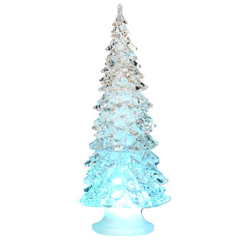 Winter Wishes LED Tree with Water - 8 inch