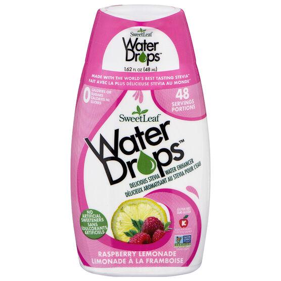 Sweetleaf Water Drops - Raspberry - 54ml