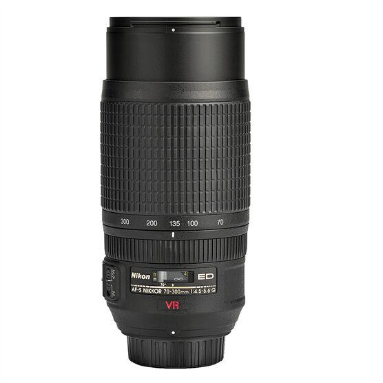 Nikon AF-S FX 70-300mm f/4.5-5.6 G IF-ED Lens VR