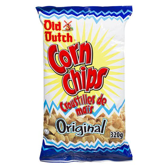 Old Dutch Corn Chips - Original - 320g