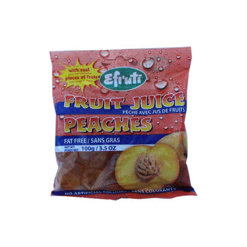 Efruti Fruit Juice Candy - Peach - 100g