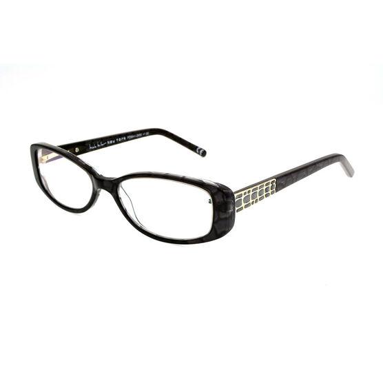 Foster Grant Willow Reading Glasses - Black/Chrome - 1.75