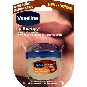 Vaseline Lip Therapy Lip Balm - Cocoa Butter - 7g