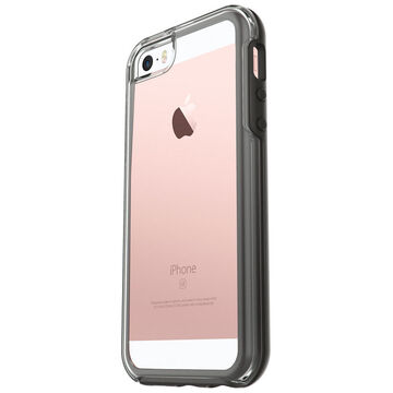 Otterbox Symmetry Clear Case for iPhone 5/SE - Black Crystal- OBSYCIP55CLBK