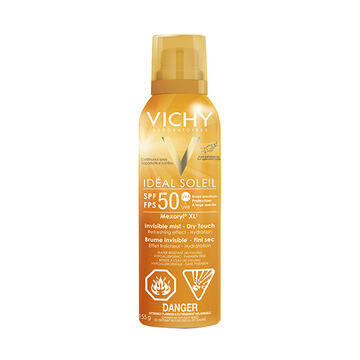 Vichy Ideal Soleil Invisible Hydrating Mist SPF 50 - 155ml