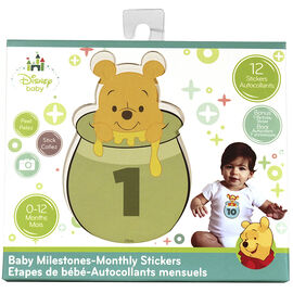 Winnie the Pooh Milestone Stickers