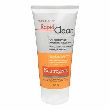 Neutrogena Rapid Clear Oil-Removing Foaming Cleanser - 175ml
