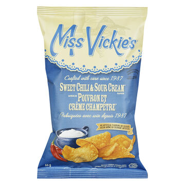 Miss Vickies Potato Chips - Sweet Chili & Sour Cream - 66g