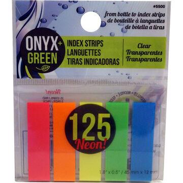 Onyx Green Index Strips - 125 strips