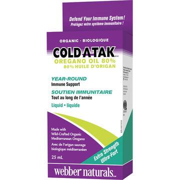 Webber Naturals Cold-A-Tak Oregano Oil - Extra Strength - 25ml