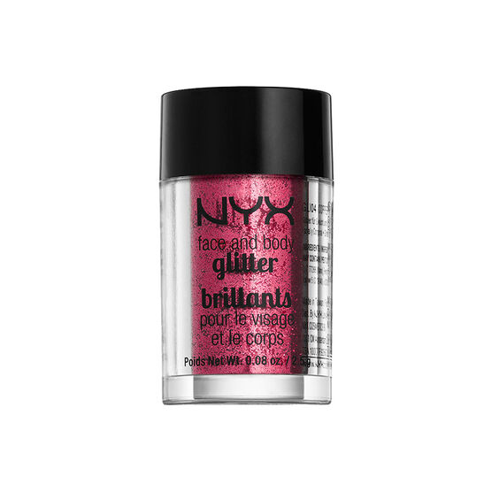 NYX Professional Makeup Face and Body Glitter - Ruby