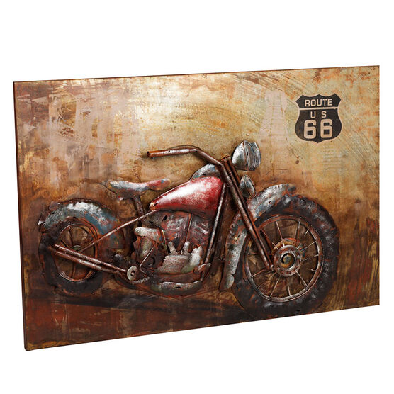 London Drugs Metal Print - Motorcycle 66