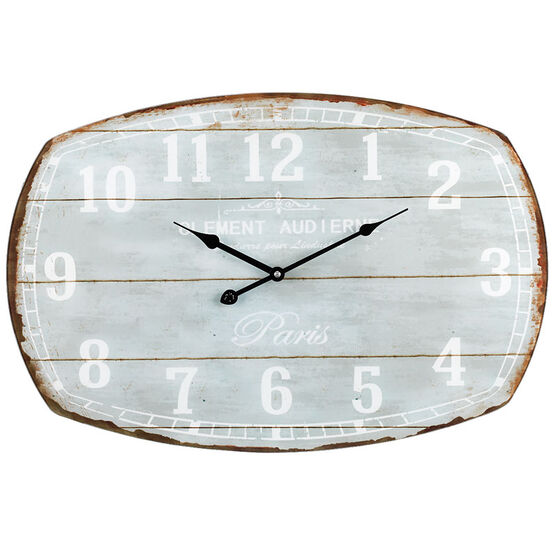 London Drugs Wall Clock - Clement Aud I Erne - 60 x 40cm