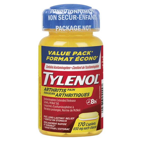 Tylenol* Arthritis Pain - 170 caplets