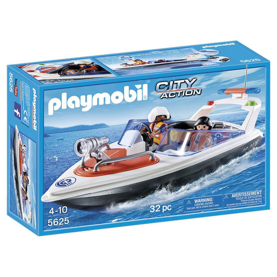 Playmobil City Action -Rescue Boat - 56252