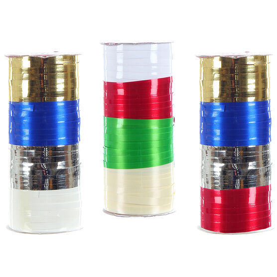 Winter Wishes Ribbon Spool - 100 ft - Assorted