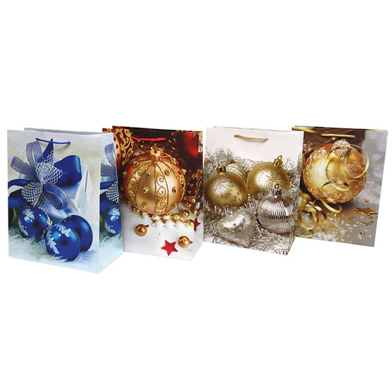 Christmas Gift Bag - Ball Series - Assorted