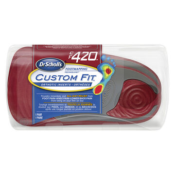 Dr. Scholl's Custom Fit Orthotic Insoles - CF420 - M8.5/W9.5
