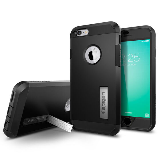Spigen Perfect Armor Case  for iPhone 6/6s - Black - SGP11615