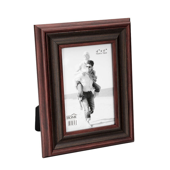 London Home Picture Frame - Classic Wood - 4x6in