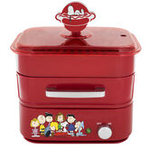 Smart Planet Peanuts Hot Dog Steamer - Red - HDS-1S